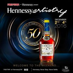 An Epic Weekend at Barbados Hennessy Artistry 2016